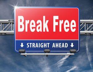 Break Free Sign