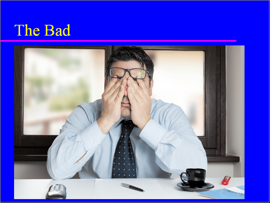 Don't let bad news induce portfolio panic in you.